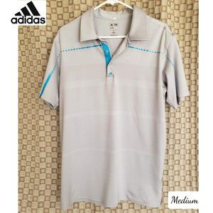 NWOT AAdidas Men's Golf ClimaCool Polo Shirt M